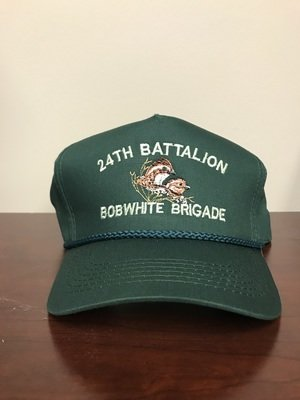 Rolling Plains Bobwhite Brigade 24th Battalion Captain's Hat