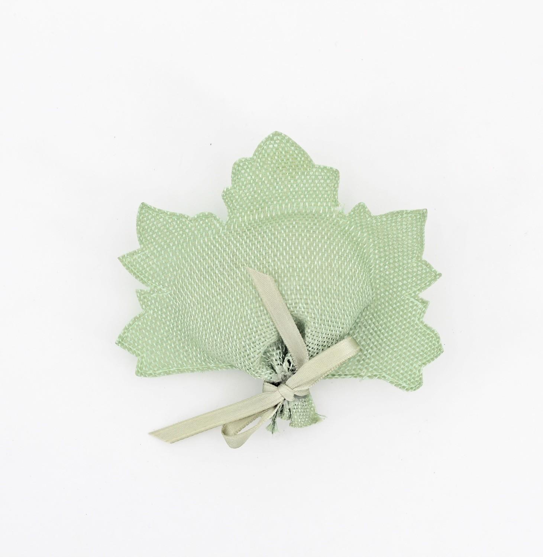 Nastro portaconfetti foglia verde Mt. 8.5