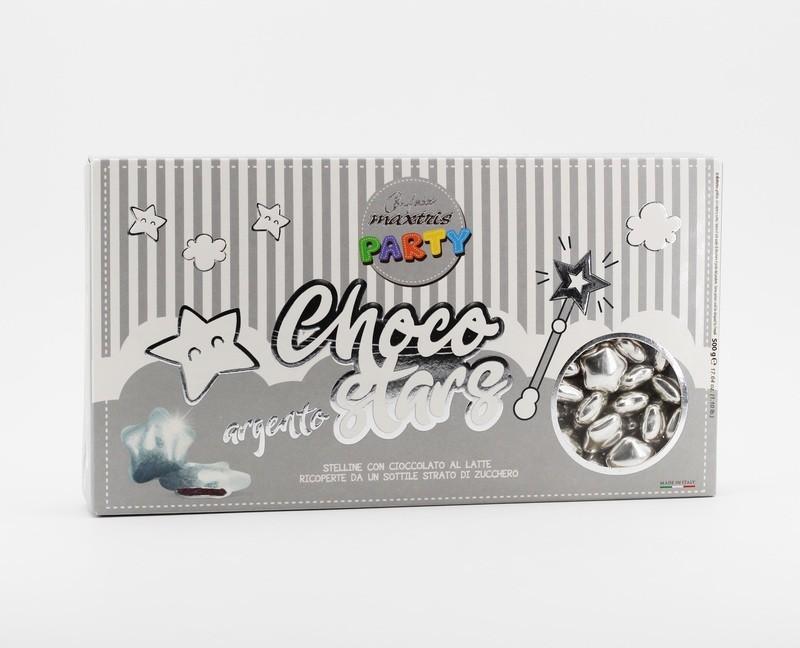 Maxtris Choco stars argento