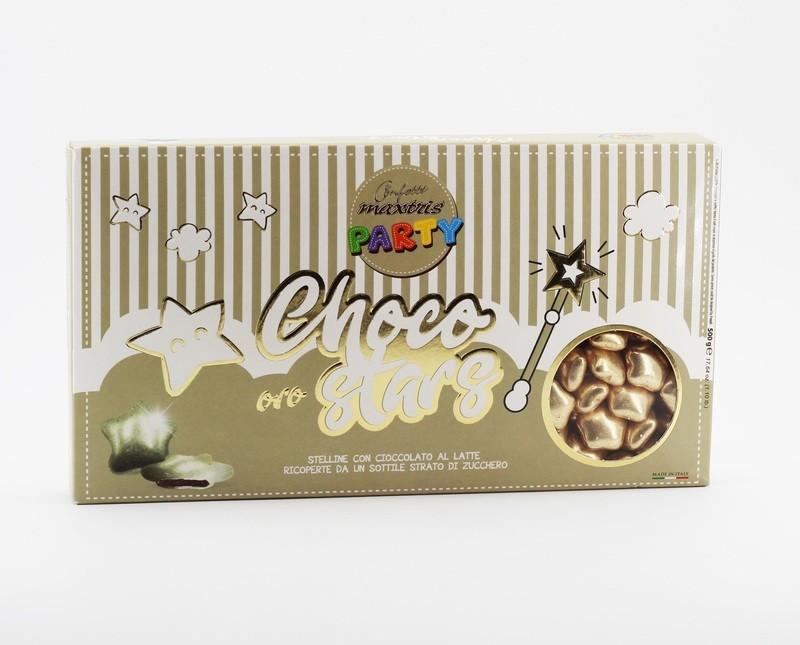 Maxtris Choco stars oro