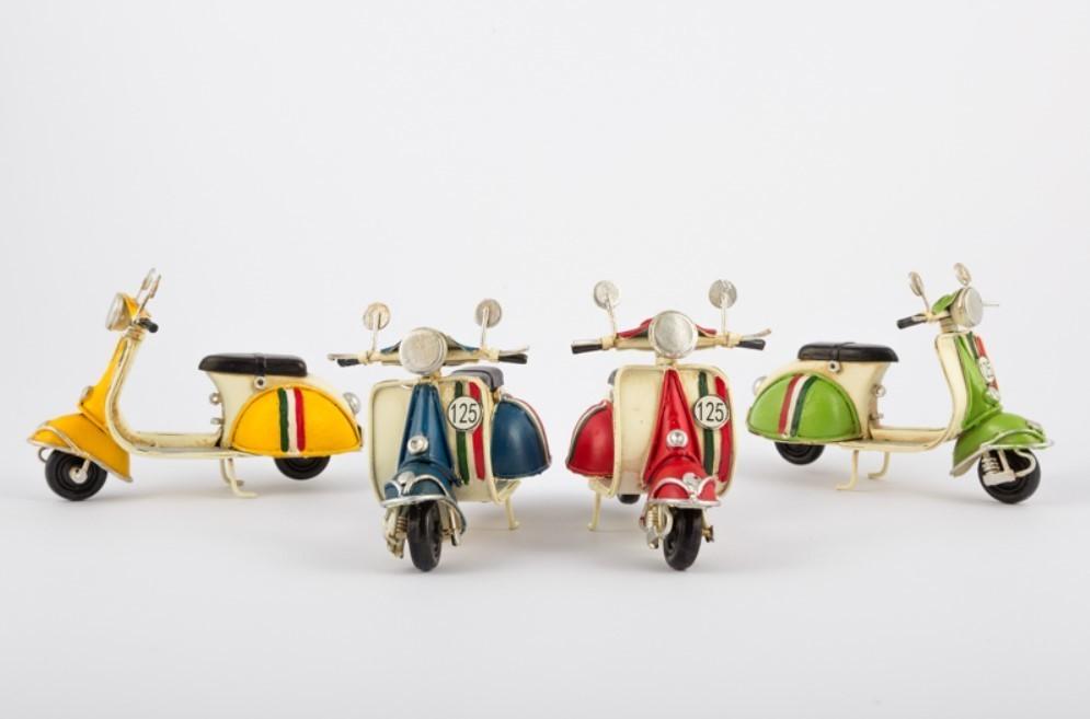 Bomboniera scooter vespa in metallo Pz. 4