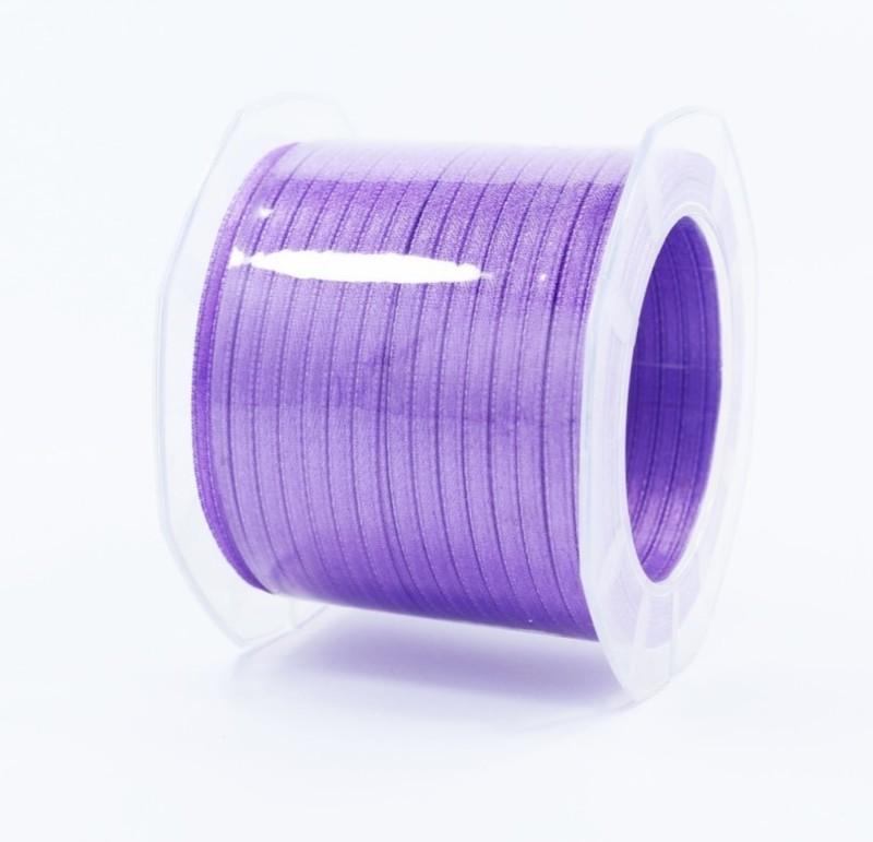 Furlanis nastro di raso viola colore 76 mm.3  Mt.100