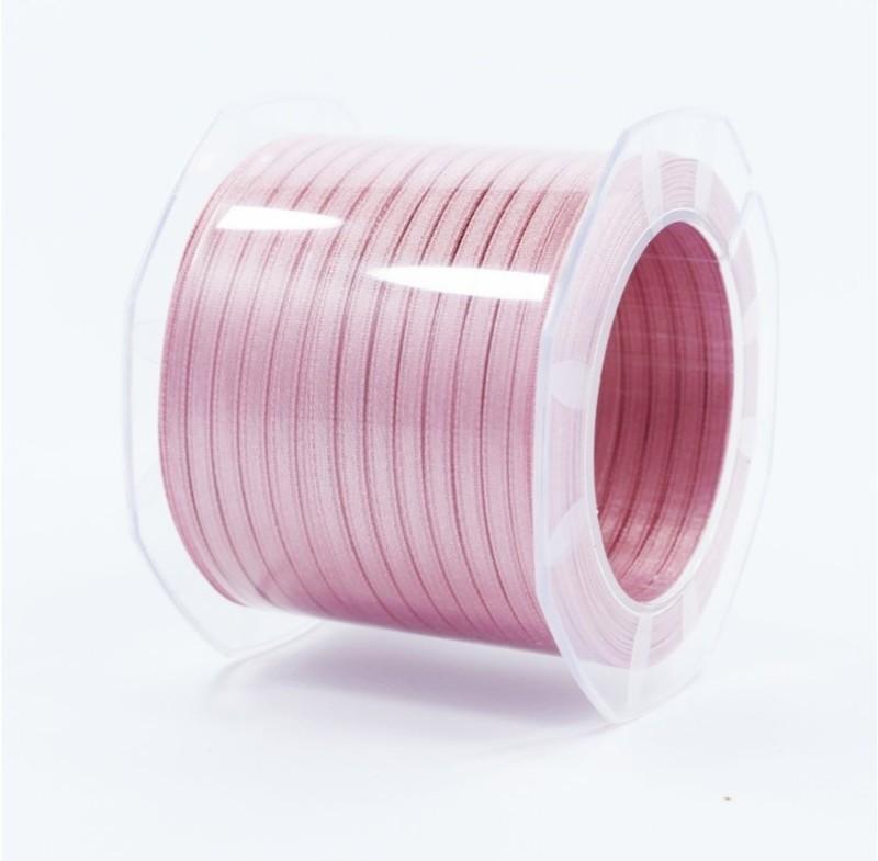 Furlanis nastro di raso rosa antico scuro colore 37 mm.3  Mt.100