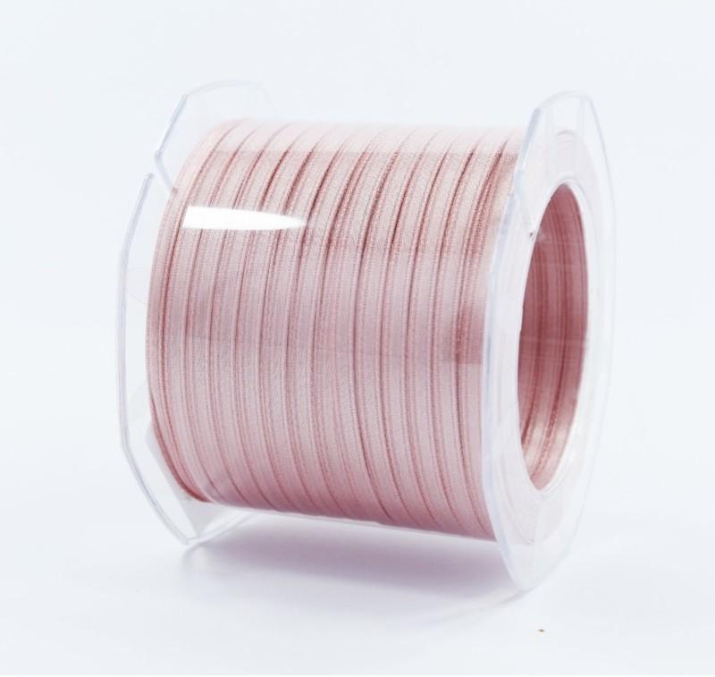Furlanis nastro di raso rosa antico chiaro colore 552 mm.3  Mt.100