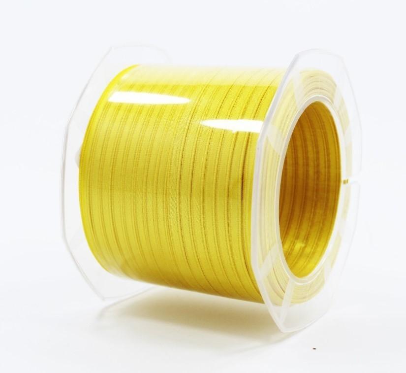 Furlanis nastro di raso giallo scuro colore 430 mm.3  Mt.100