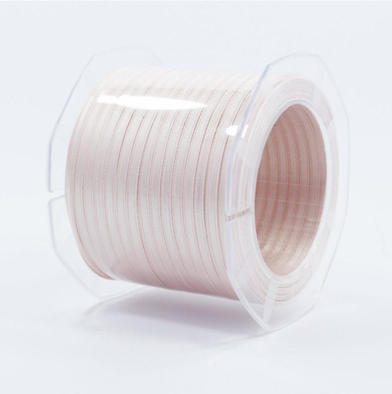 Furlanis nastro di raso cipria chiaro colore 52 mm.3  Mt.100