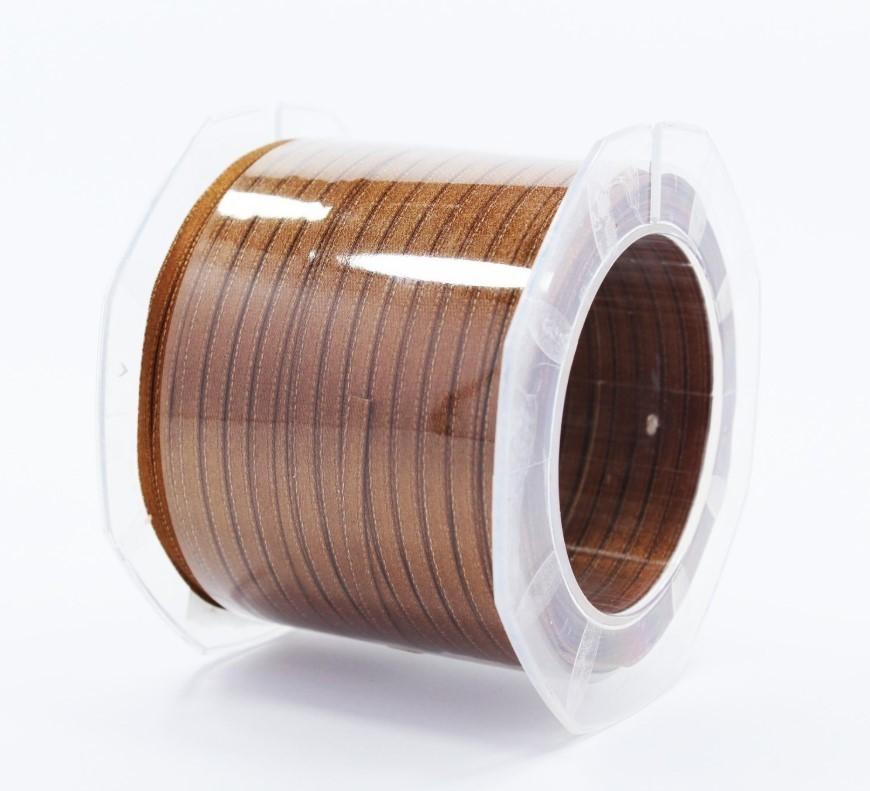 Furlanis nastro di raso marrone colore 44 mm.3  Mt.100