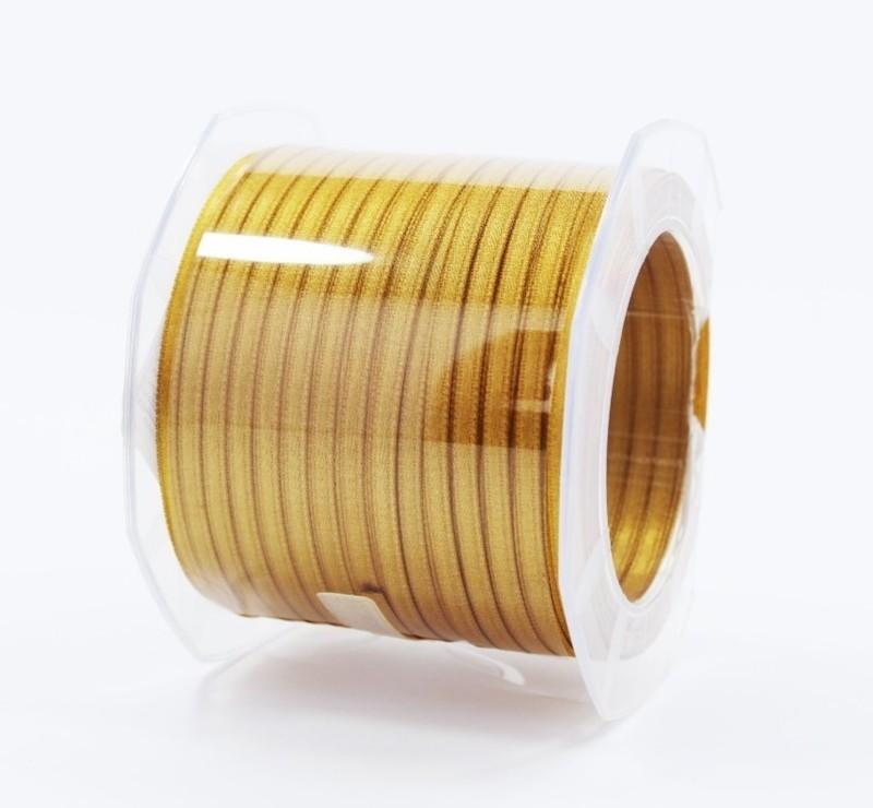 Furlanis nastro di raso giallo ocra colore 1085 mm.3  Mt.100