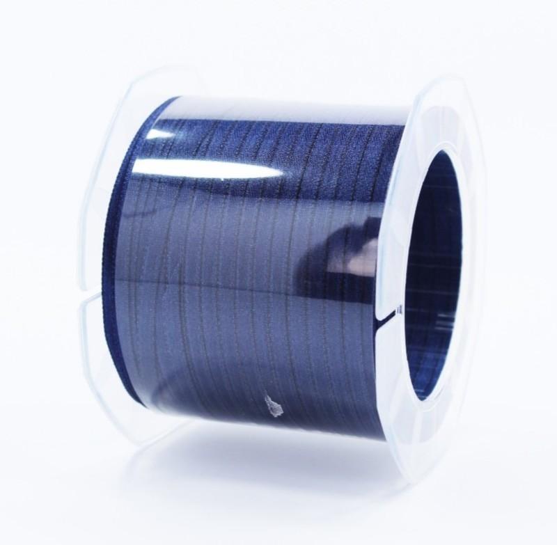 Furlanis nastro di raso blu scuro colore 1080 mm.3  Mt.100