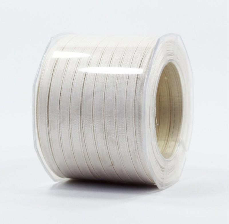 Furlanis nastro di raso avorio colore 35 mm.6 Mt.100