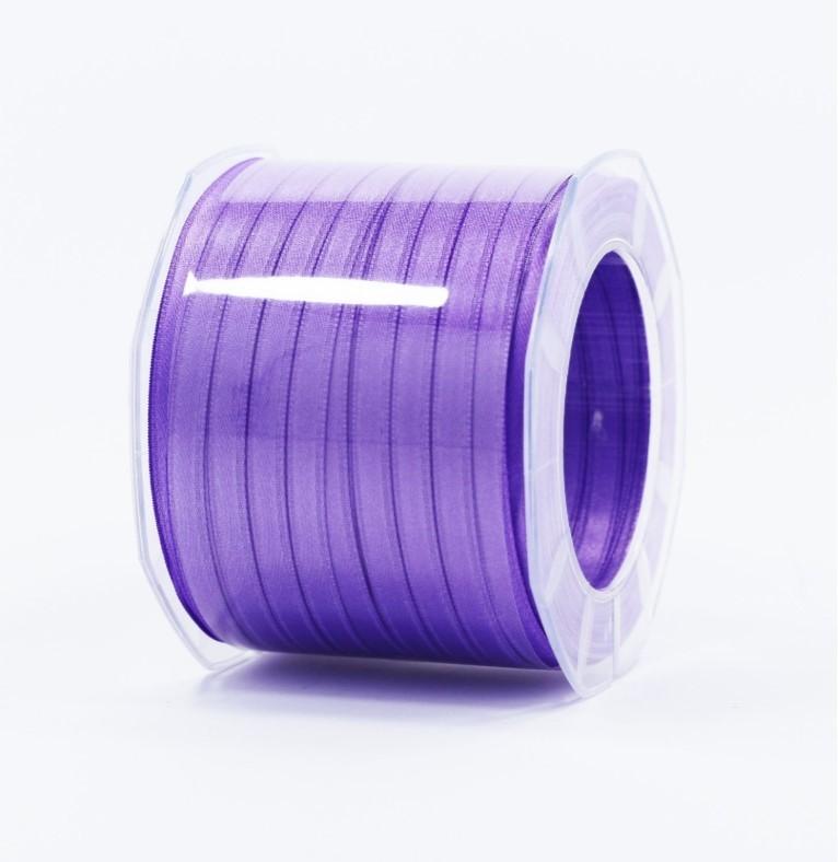 Furlanis nastro di raso viola colore 76 mm.6 Mt.100