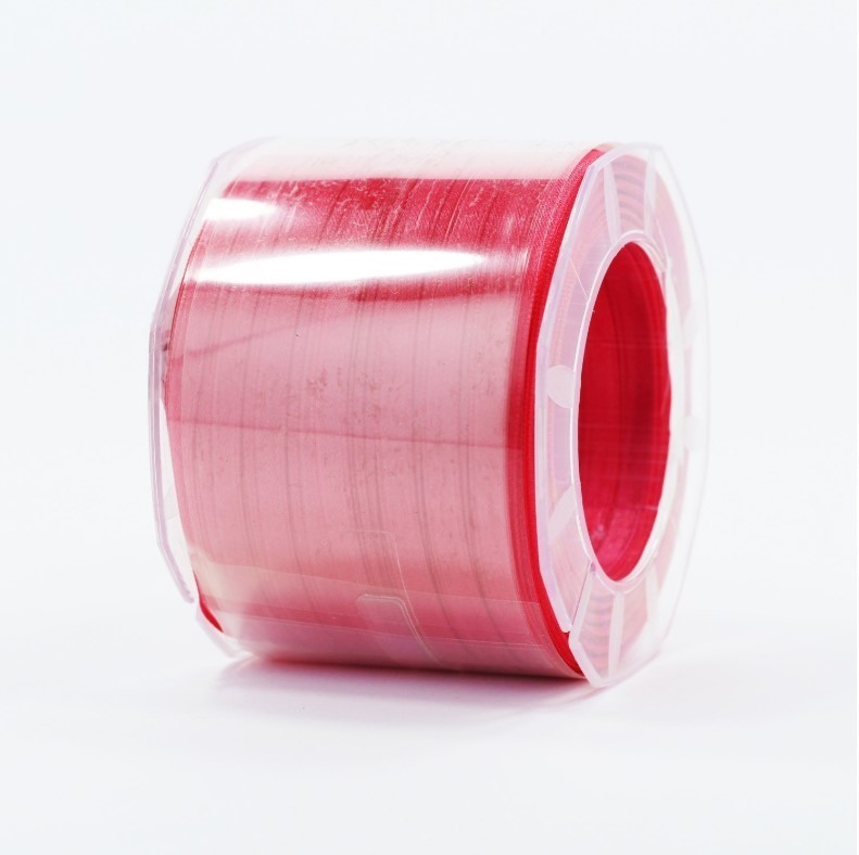 Furlanis nastro di raso rosa corallo chiaro colore 21 mm.6 Mt.100