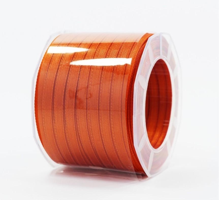 Furlanis nastro di raso ruggine colore 42 mm.6 Mt.100