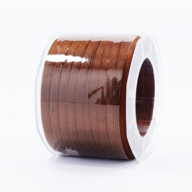 Furlanis nastro di raso marrone colore 44 mm.6 Mt.100