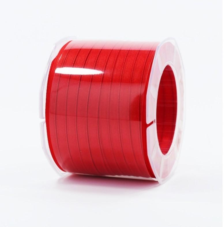 Furlanis nastro di raso rosso colore 31 mm.6 Mt.100