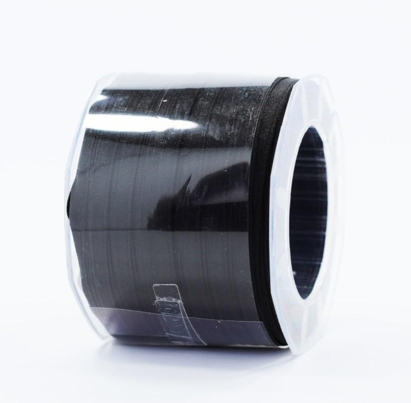 Furlanis nastro di raso nero colore 33 mm.6 Mt.100