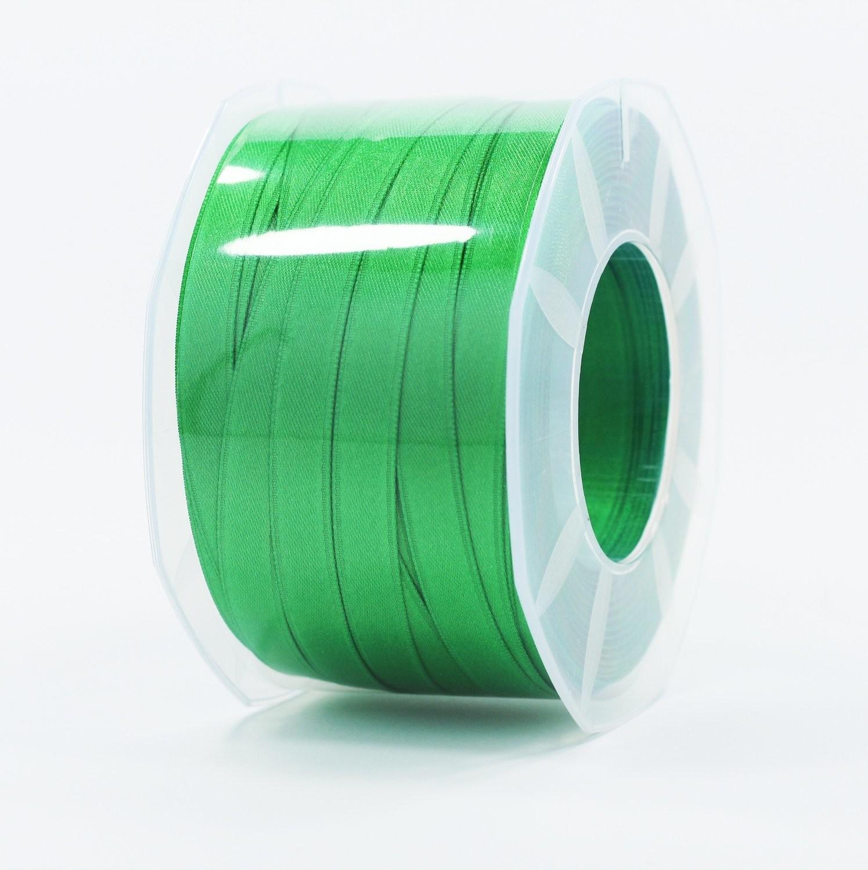 Furlanis nastro di raso verde scuro colore 32 mm.10 Mt.100