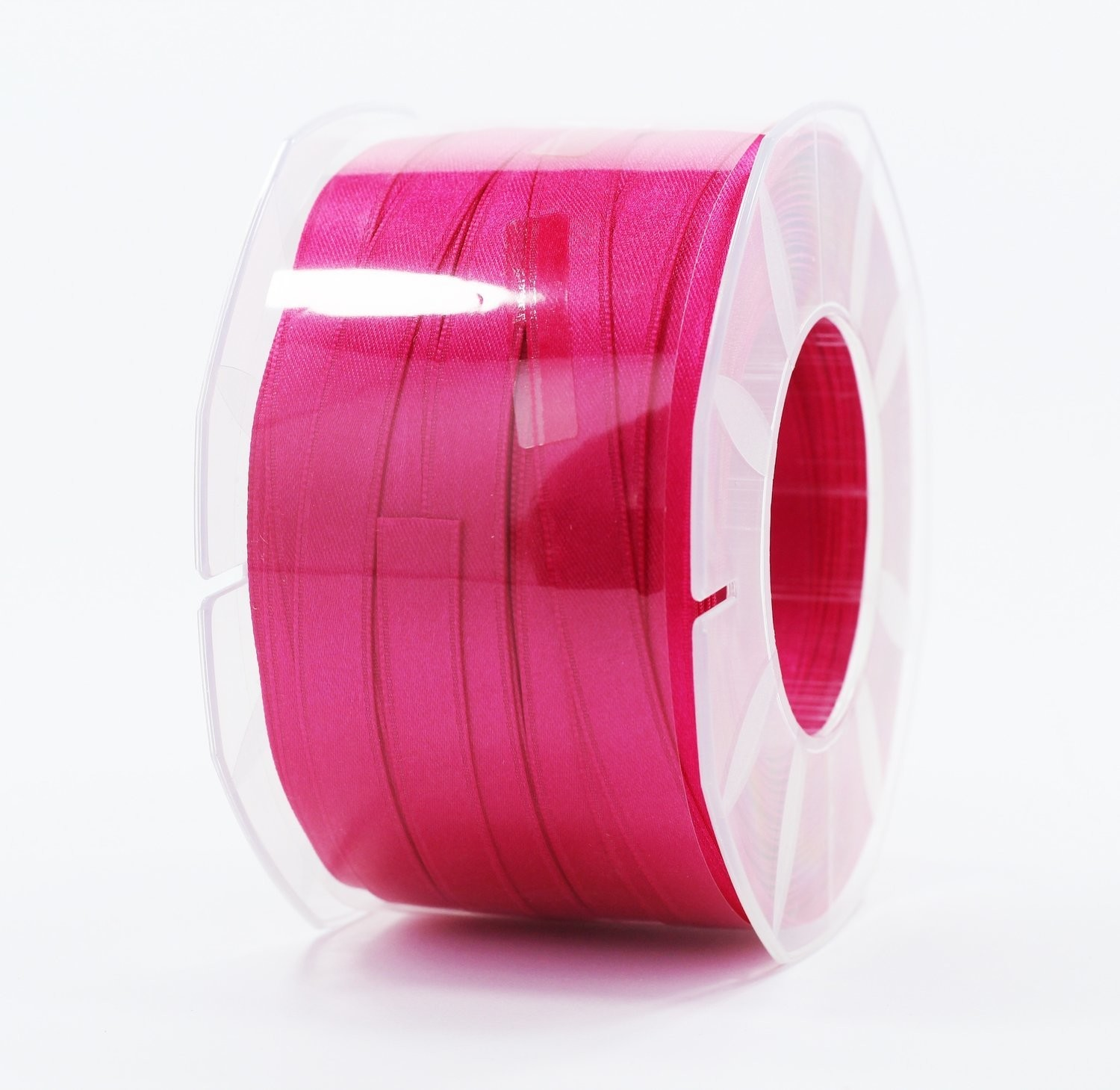 Furlanis nastro di raso fuxia scuro colore 26 mm.10 Mt.100