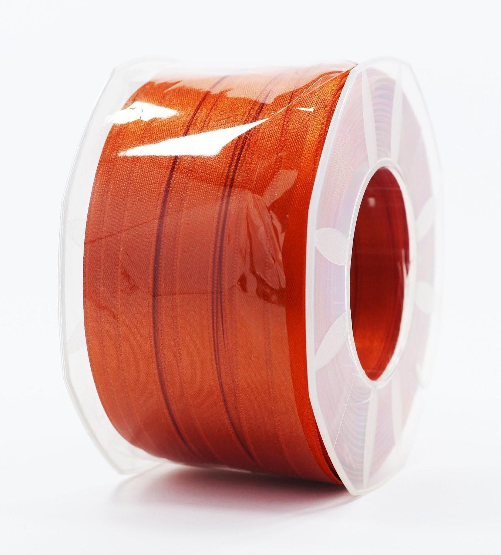 Furlanis nastro di raso ruggine colore 42 mm.10 Mt.100