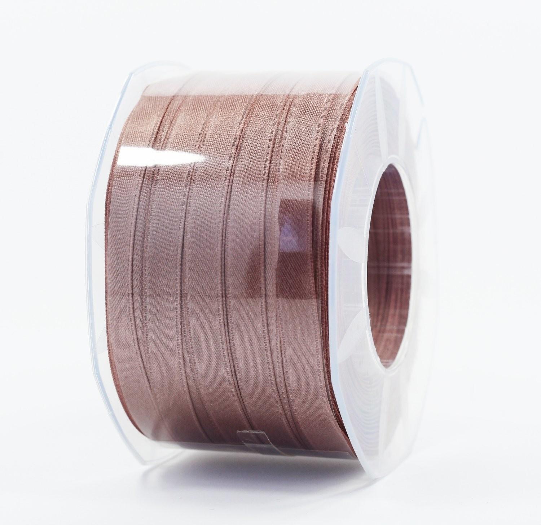 Furlanis nastro di raso marrone chiaro colore 56 mm.10 Mt.100