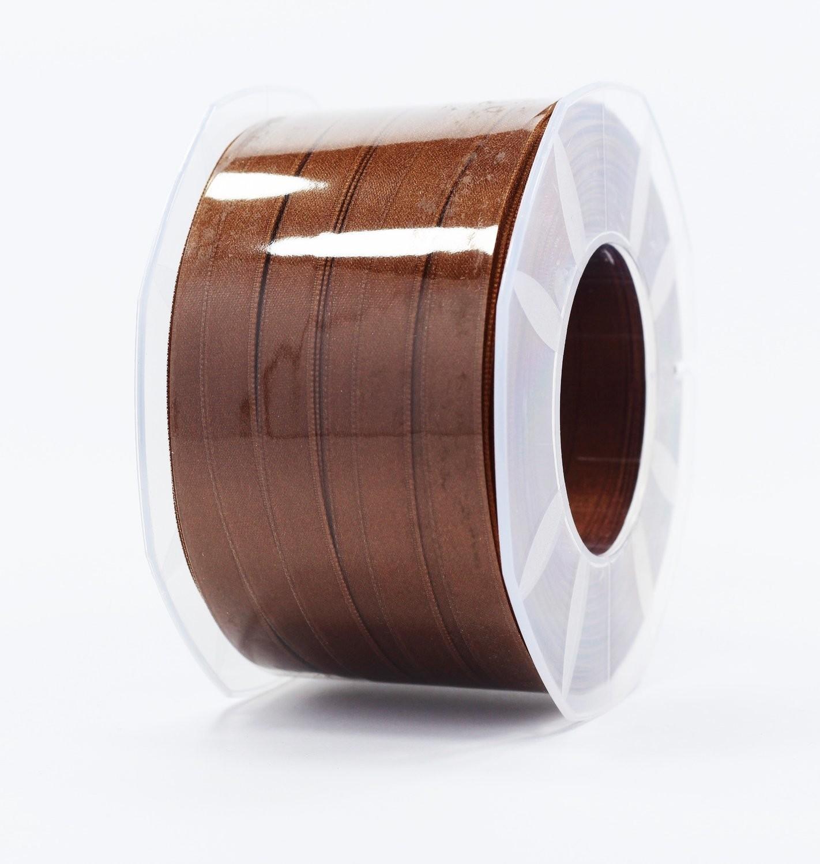 Furlanis nastro di raso marrone colore 44 mm.10 Mt.100