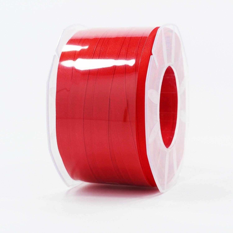 Furlanis nastro di raso rosso colore 31 mm.10 Mt.100