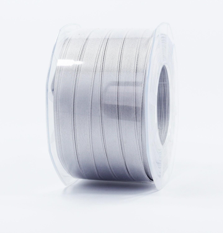 Furlanis nastro di raso grigio perla colore 73 mm.10 Mt.100