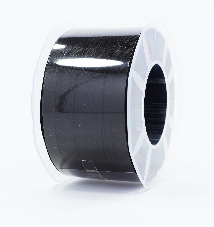 Furlanis nastro di raso nero colore 33 mm.10 Mt.100