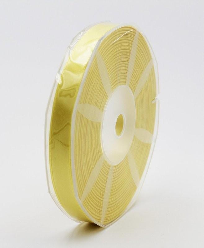 Furlanis nastro di raso giallo scuro colore 430 mm.16 Mt.50