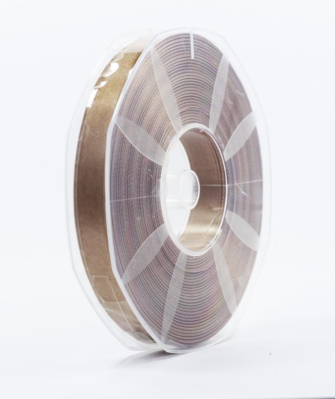Furlanis nastro di raso beige scuro colore 55 mm.16 Mt.50