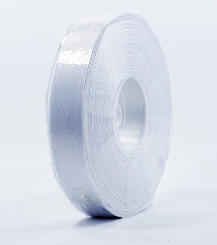 Furlanis nastro di raso bianco colore 13 mm.25 Mt.50