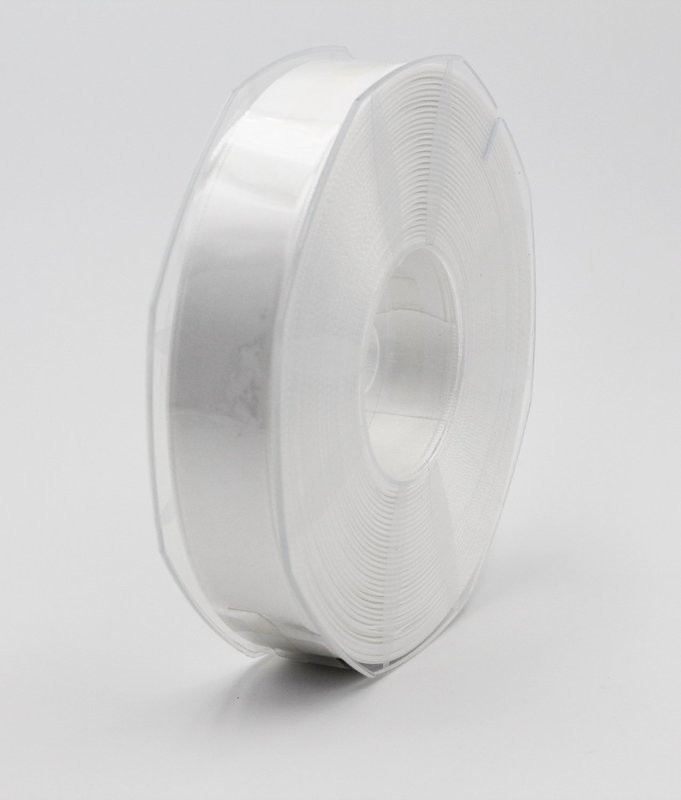 Furlanis nastro di raso bianco colore seta 1 mm.25 Mt.50