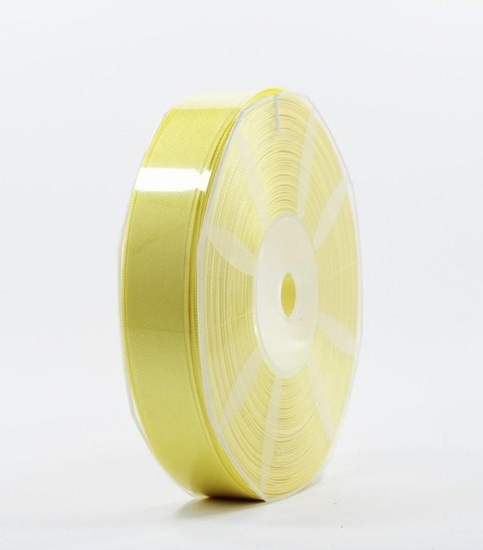Furlanis nastro di raso giallo chiaro colore 428 mm.25 Mt.50