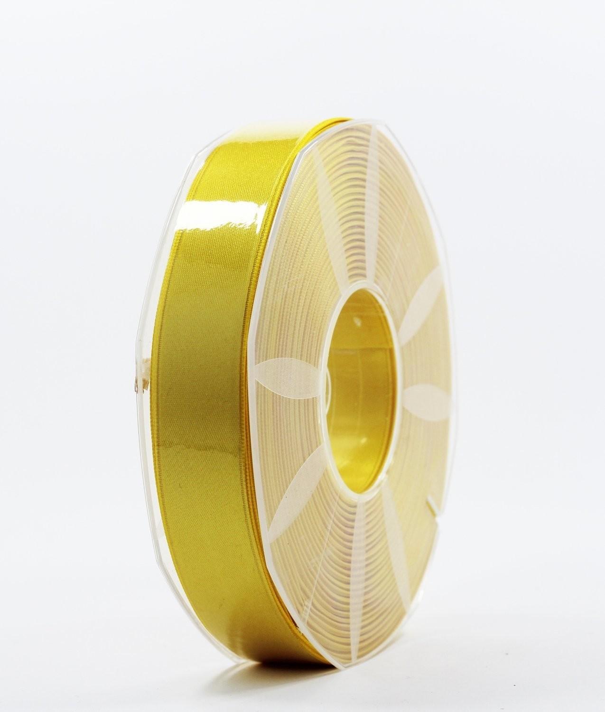 Furlanis nastro di raso giallo scuro colore 430 mm.25 Mt.50