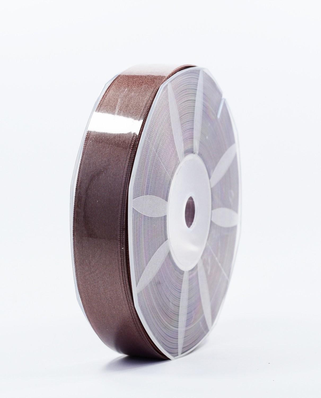 Furlanis nastro di raso marrone chiaro colore 56 mm.25 Mt.50