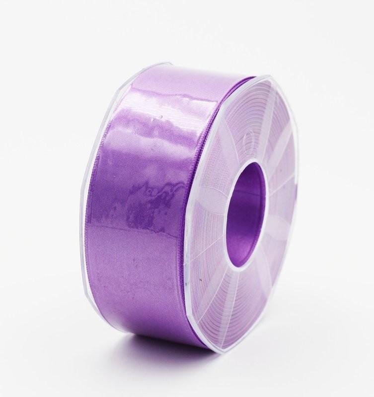 Furlanis nastro di raso viola colore 76 mm.40 Mt.25