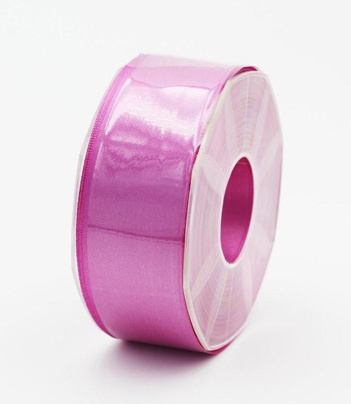 Furlanis nastro di raso lilla colore 60 mm.40 Mt.25