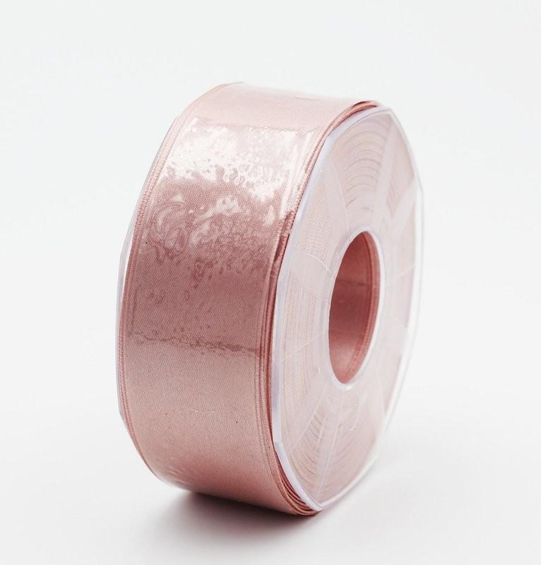 Furlanis nastro di raso rosa antico chiaro colore 552 mm.40 Mt.25