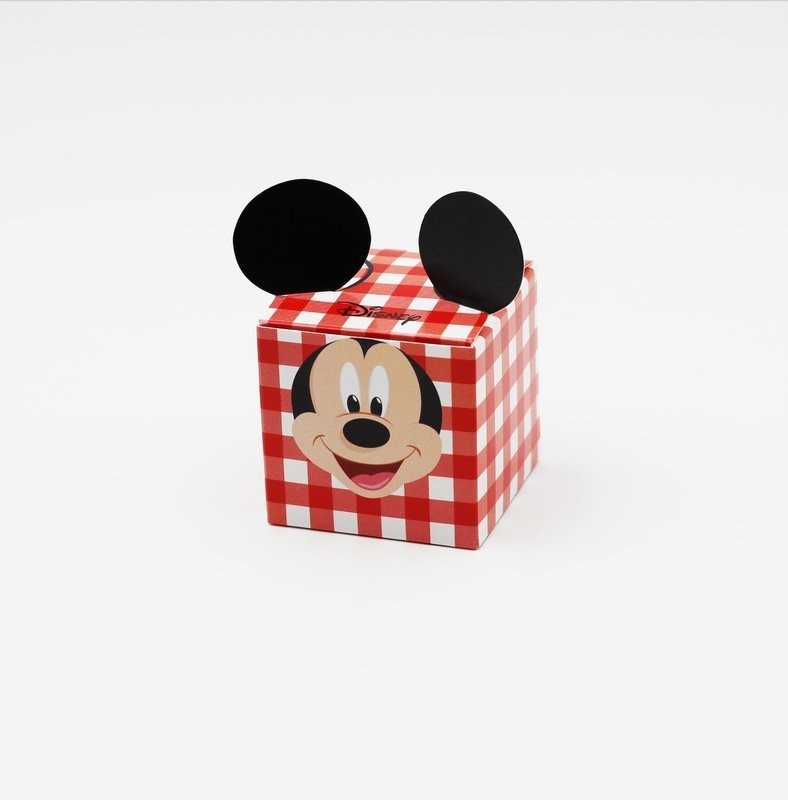Cubo party mickey rosso Pz.10