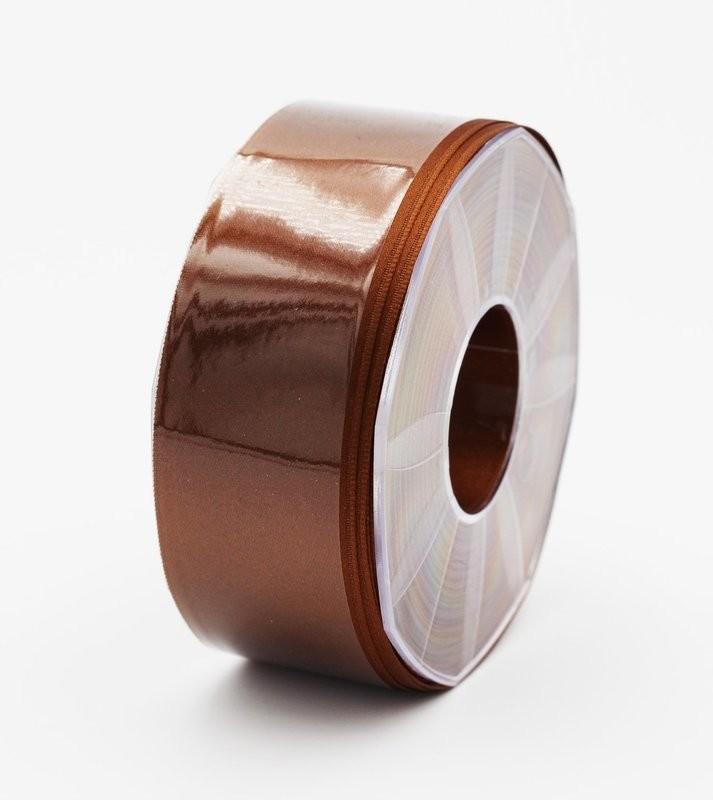 Furlanis nastro di raso marrone colore 44 mm.40 Mt.25