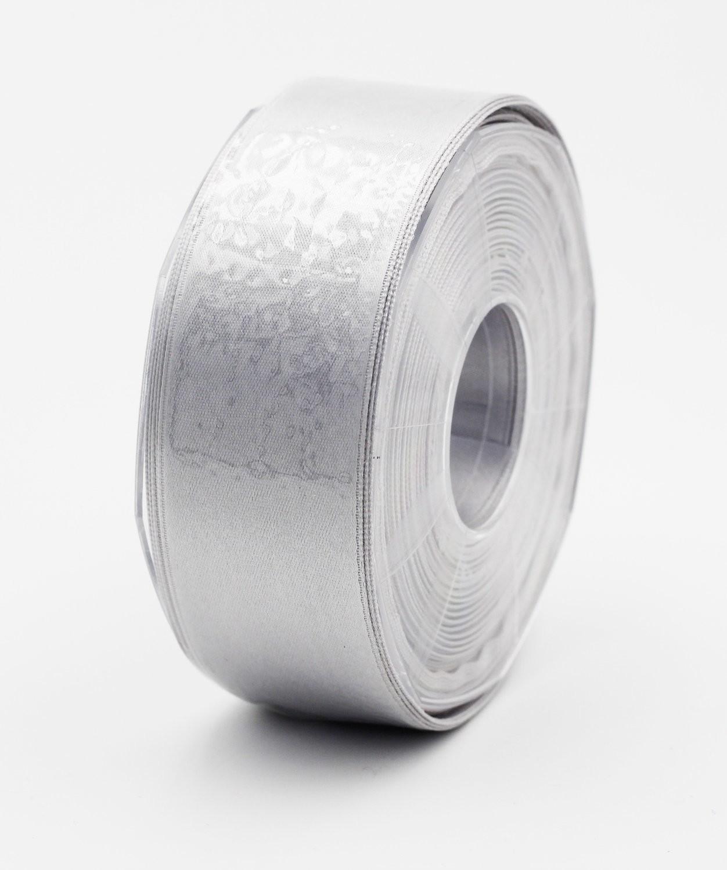 Furlanis nastro di raso grigio perla colore 73 mm.40 Mt.25