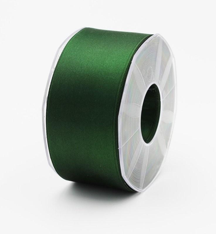 Furlanis nastro di raso verde bottiglia colore 633 mm. 48 Mt. 25