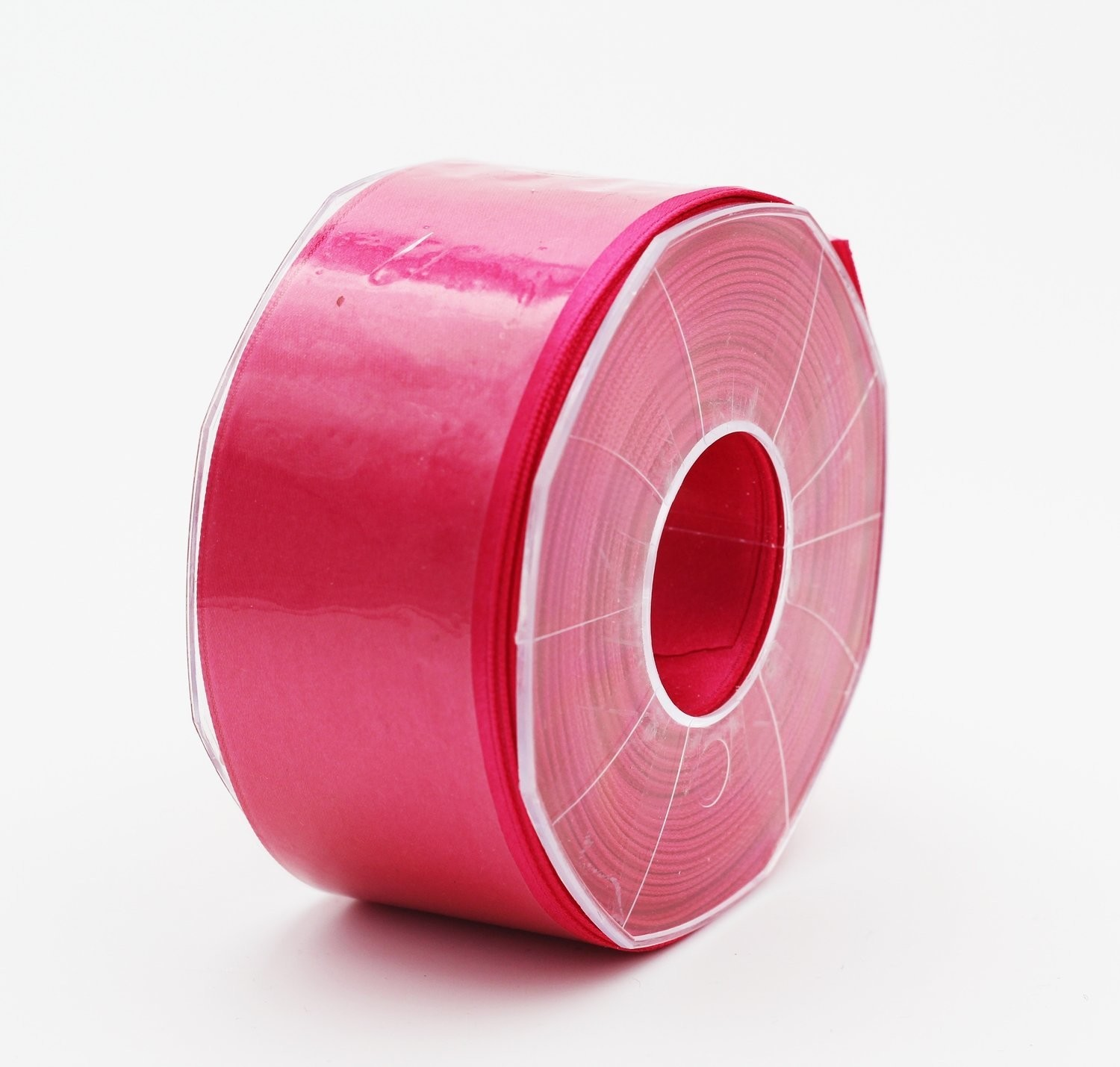 Furlanis nastro di raso fuxia scuro colore 26 mm. 48 Mt. 25