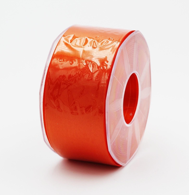 Furlanis nastro di raso arancio scuro colore 40 mm. 48 Mt. 25
