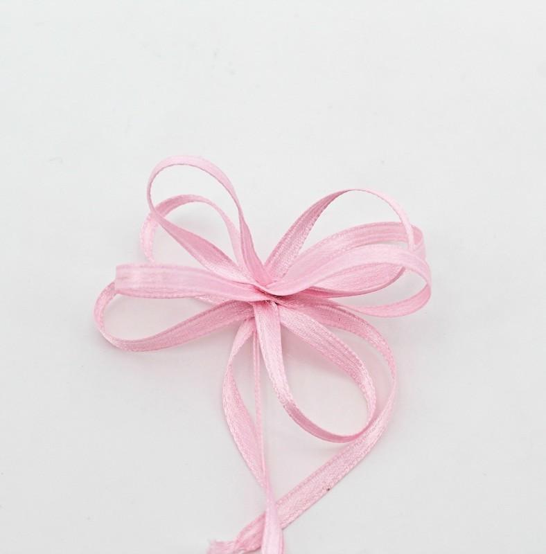 Furlanis nastro doppio raso rosa con tirante colore 20 mm.3 Mt.100