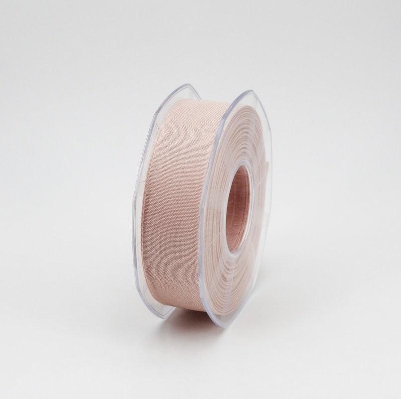 Furlanis nastro garza tipo cotone cipria chiaro colore 52 mm.25 Mt. 25