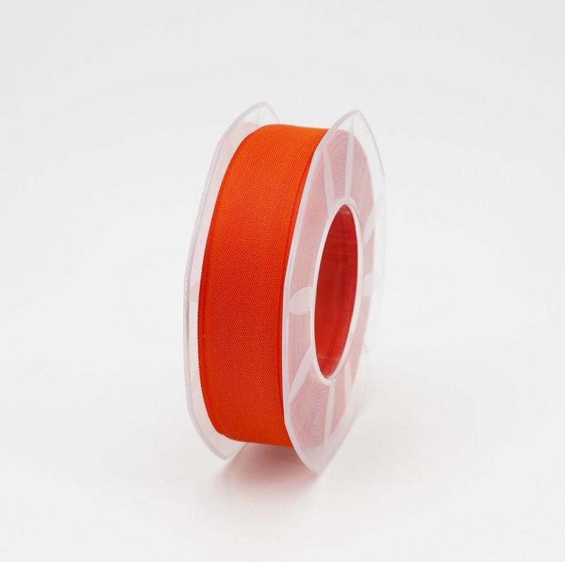 Furlanis nastro garza tipo cotone arancio colore 40 mm.25 Mt. 25