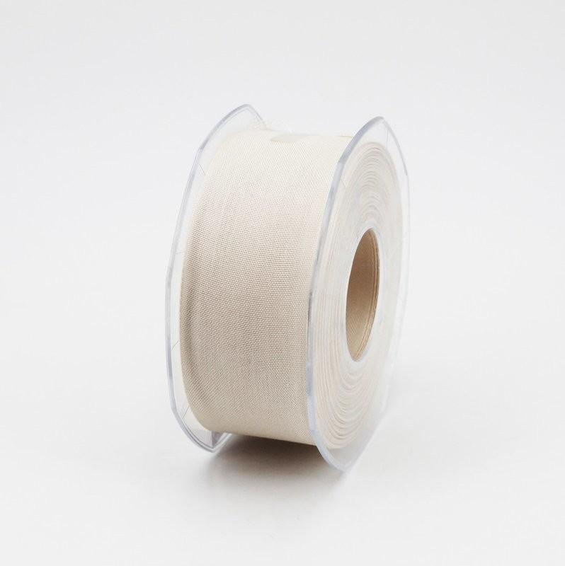 Furlanis nastro garza tipo cotone avorio colore 35 mm.40 Mt. 25