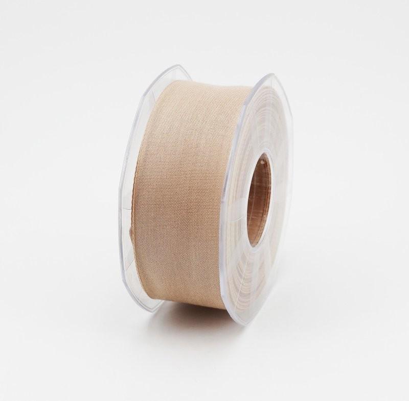 Furlanis nastro garza tipo cotone beige colore 2 mm.40 Mt. 25
