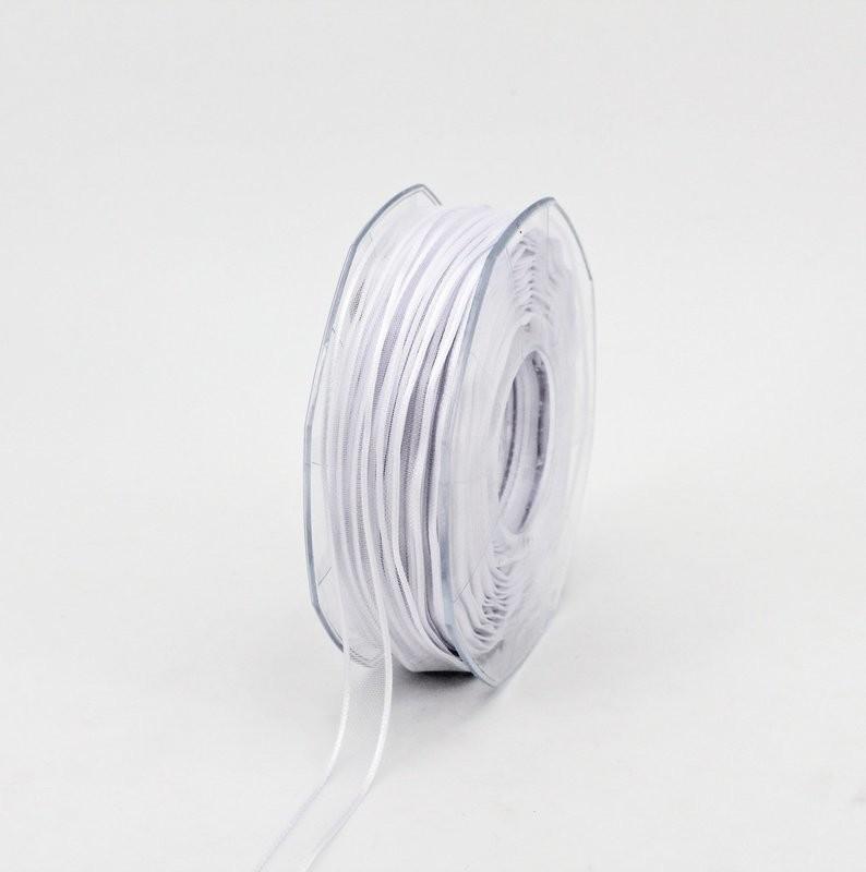Furlanis nastro organza bianco colore 13 mm.10 Mt. 50